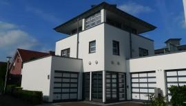 Modernes Stadthaus mit