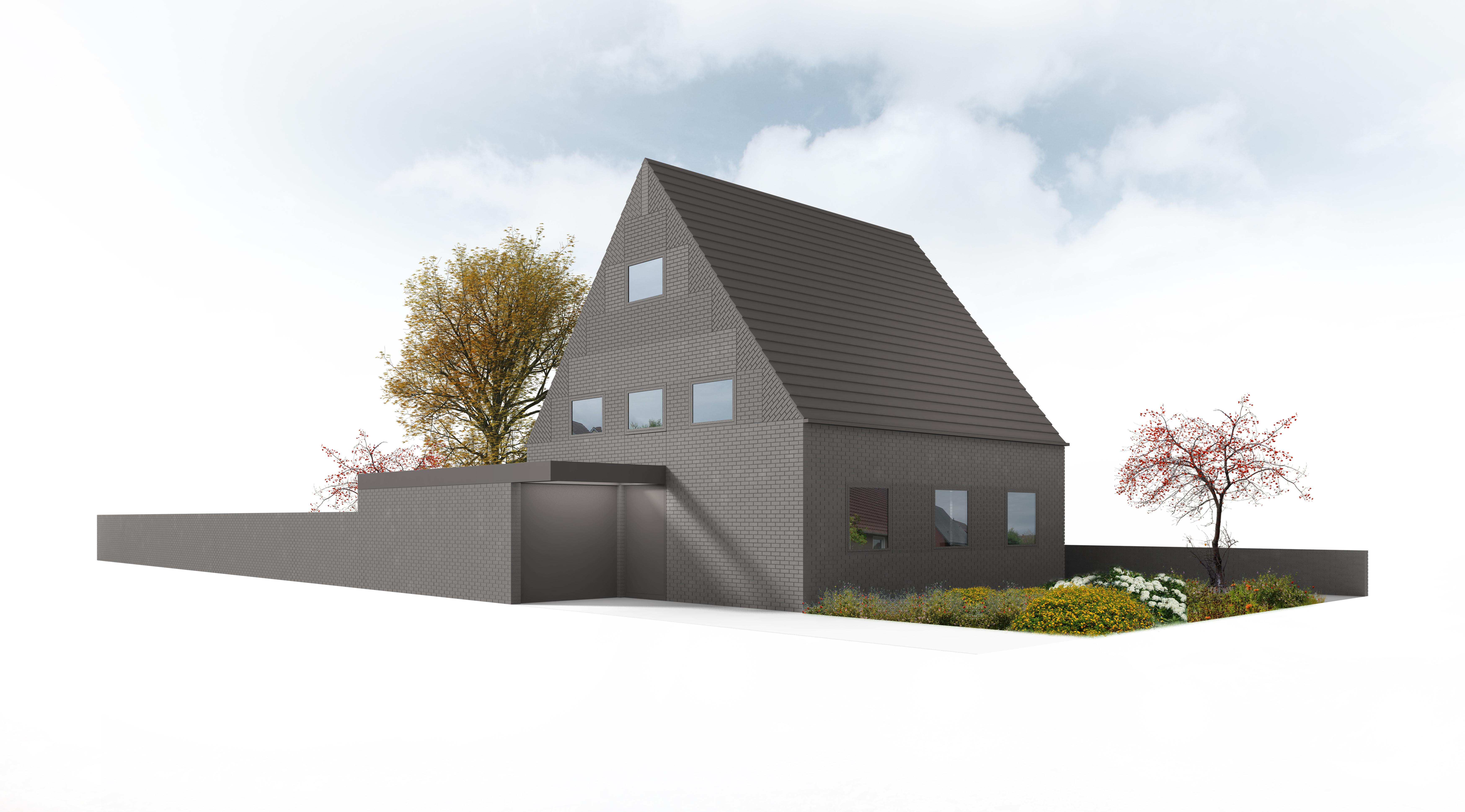 neubauvorhaben modernes wohnhaus kfw 70 in guter lage von wiedenbr ck id 2274 g w immobilien. Black Bedroom Furniture Sets. Home Design Ideas