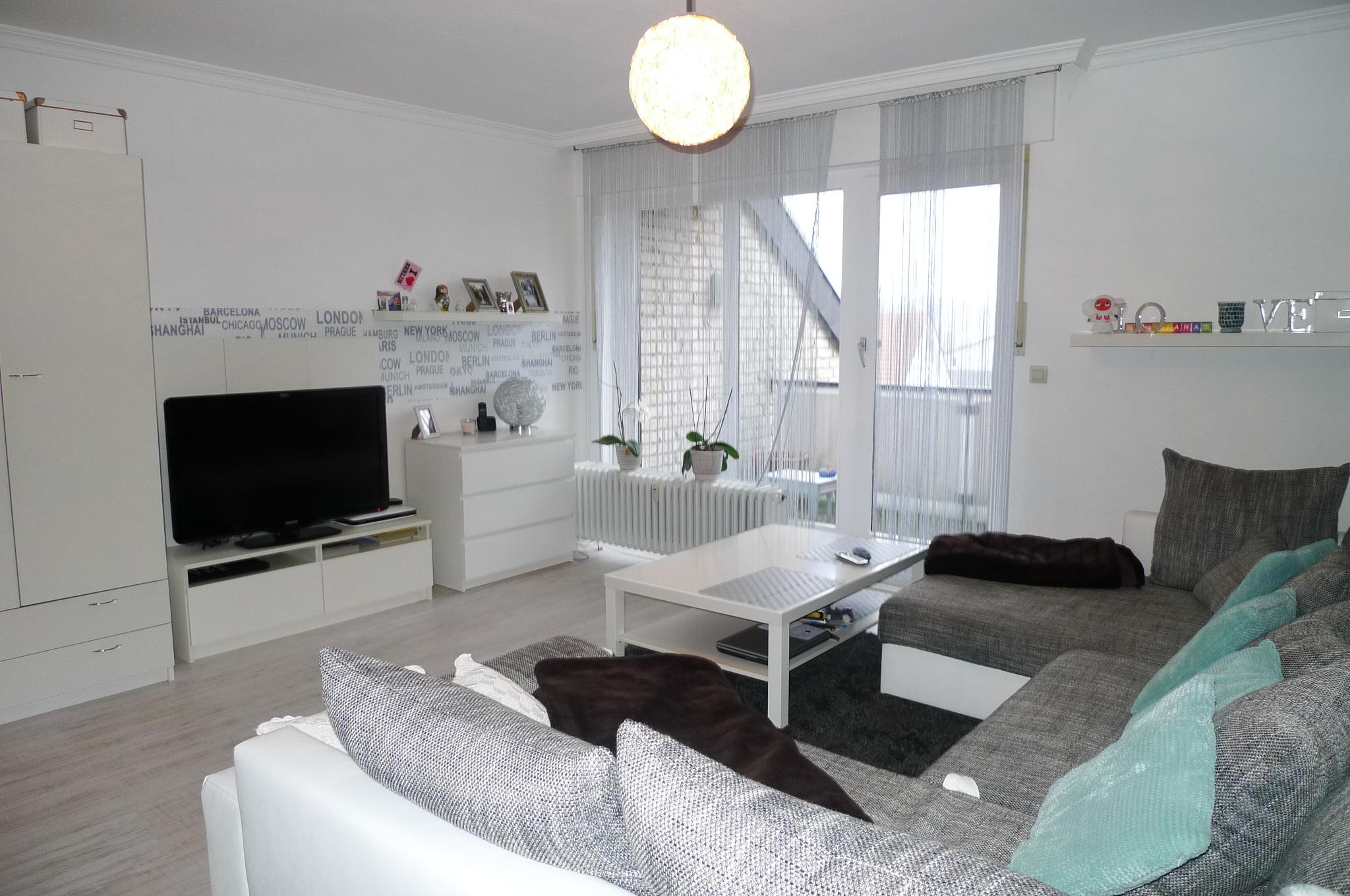 Fabelhaft Einbauküche Angebot Beste Wahl Moderne 1-zimmer Te Wohnung Mit 2 Balkonen